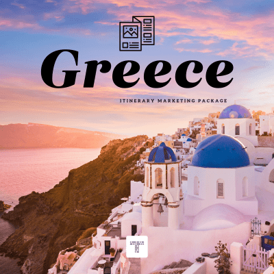 Itinerary Marketing Package for Travel Agents | Greece
