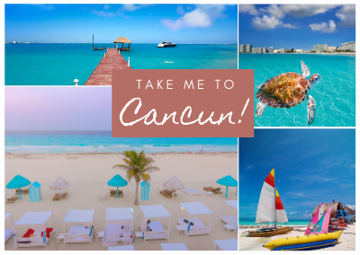 Cancun Mexico Post Pack