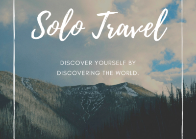 Solo Travel Post Pack