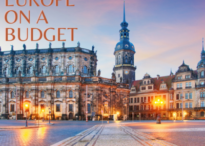 Europe Travel On A Budget Post Pack