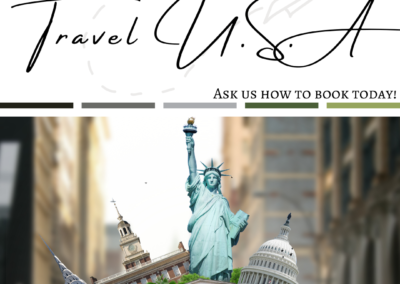 Travel USA Post Pack