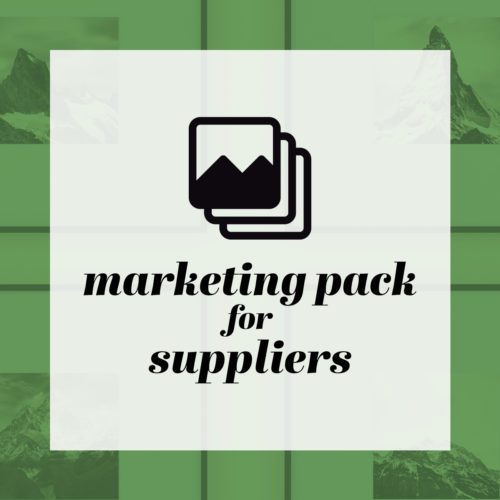 Marketing Pack for Suppliers