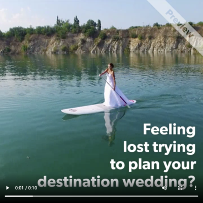 Destination Weddings Promo Video